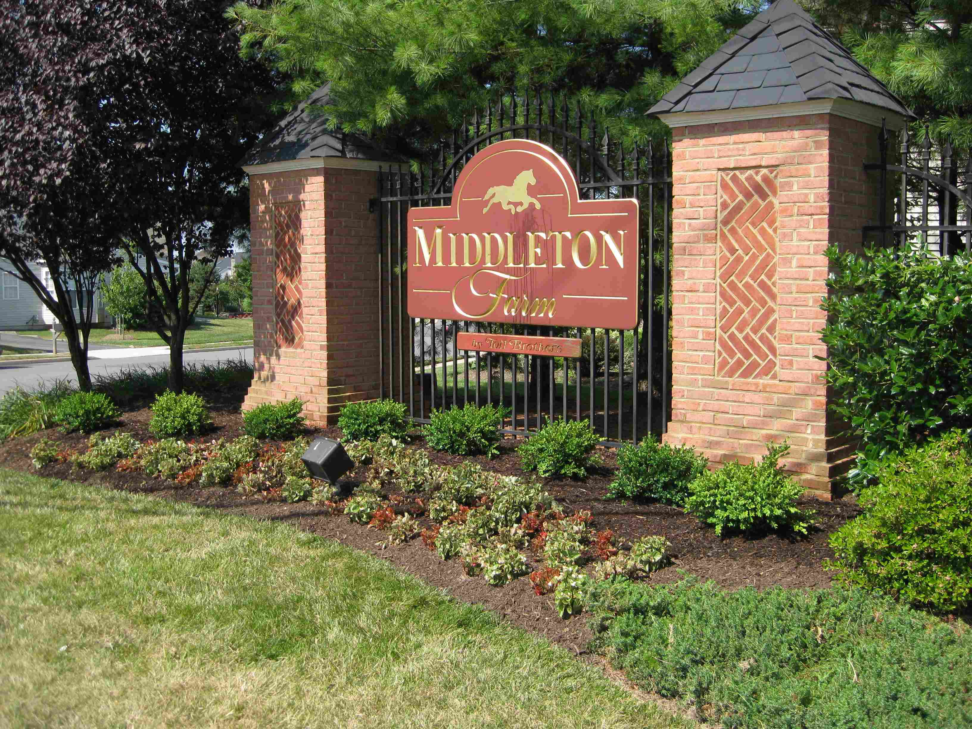 Middleton farm hoa home page for Middleton home
